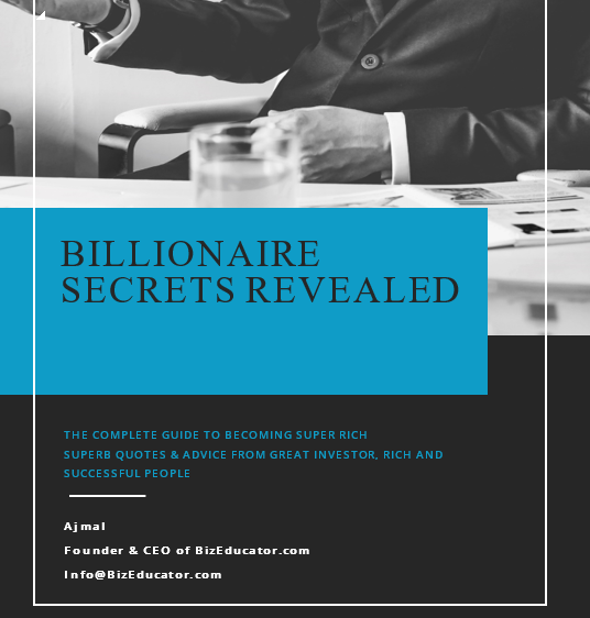 BILLIONAIRE SECRETS REVEALED 2019
